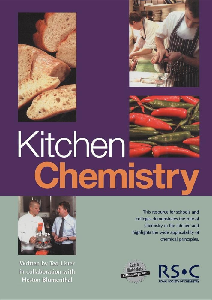 cooking is chemistry Cooking is chemistry, and every time you set foot in your kitchen, you walk into a laboratory, packed with high-tech gear and stocked with supplies, made just for you.